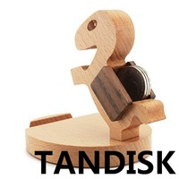 The new lazy phone holder pony wood cell phone holder creative mobile phone holder