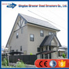 cheap luxury beautiful decoration steel structure villa