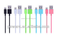 Wholesale MFI approval 8pin to usb data cable for charging and sync, from V6.2 MFI manufacturer