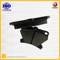 no noise brake pads factory non asbestos Disc brake pads GDB3243