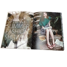 Wholesale Magazine colorful factory price softcover book
