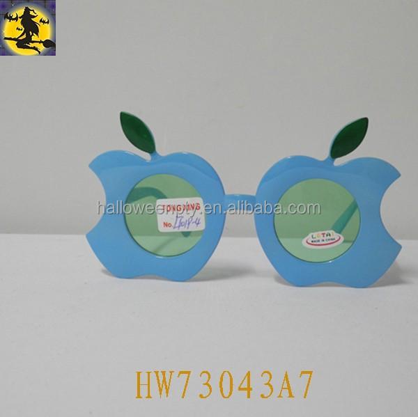 Plastic Apple Design Fashion Party Eye Glasses