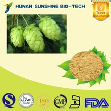 natural plant Beer Flower Extract /Flavonoids,Xanthohumol Hops Flower Extract for Beer
