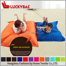 Hot sell orange color outdoor bean bag cover large bean bag sitzsack bean bag