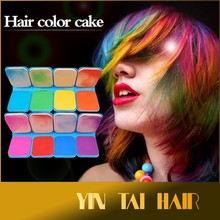 Hot Selling Pastel Chalk Pass EN71-3 Test the Square Hair Dye Chalk in Stock, Different Color Making You the Newest Hair Style