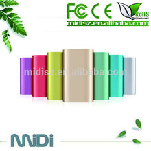 2015 new products china factory manufacturer emergency portable slim powerbank 5200mah