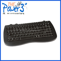 Shenzhen factory Russian Mini Keyboard 2.4G with cheap price