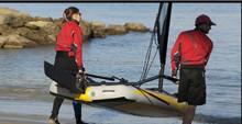 2015new produto barco à vela inflável, Veleiro mastro