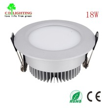 Perfect design !High Luminous 18W LED COB Downlight 2 Years