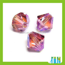 Charming 8mm Crystal Bicone Bead Landing, Low Price Wholesale