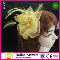 wholesale sinamay fascinator base for parties