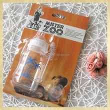 Dog accessories 120 ml PP feeding bottle for pet dog