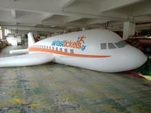 Custom inflatable PVC air plane