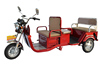 double row high quality and new style electric tricycle for adult and passager