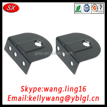 China manufacture customize high precision bed connecting brackets, keyhole brackets, rafter brackets passing RoHS