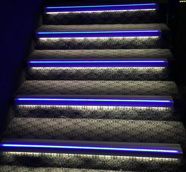 Th Tre Escalier D Coration Led Nez De Marche Lumi Re Pour