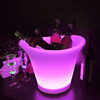 rechargeable led ice bucket RGB color change bar LED Champagne ice buckets