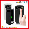 Classic Black phone case with power bank, smart phone case with battery for samsung, phone case with power bank factory china