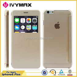 New Products 2015 PU Leather Wallet Case for iPhone 6 Plus, China Supplier for iPhone 6 Plus Cover Case