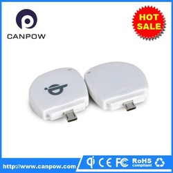 Handphone accessories portable wireless charging receiver for samsung galaxy s4