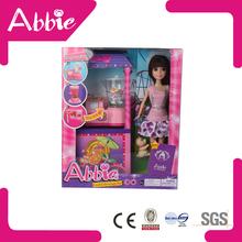 alta qualidade de plástico mini brinquedo casa de boneca de móveis por atacado da porcelana
