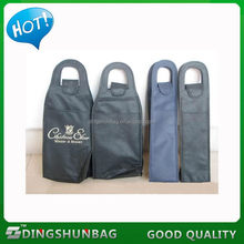 Durable promotional non woven wine carrier bag