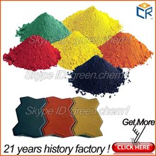 inorganic and organic iron oxide blue pigments and red 130 (ci 77491) fe3o4/fe2o3/fe203 for cement tiles/wood mulch/colorant dye