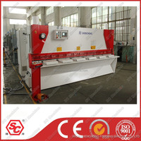QC11k-6x3200 exhibition guillotine machine with pneumatic sheet supporting