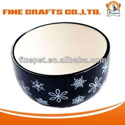 High Quality Creamic Puppy Bowl
