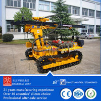 take soil and rock samples mining core drilling machine