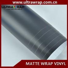 Ultrawrap 1.52x30 meter bubble free black matte diy vinyl wrap