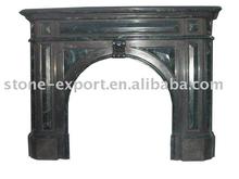 stone Fireplace mantel marble