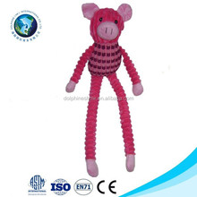 Low moq safety plush pet cat products cheap high quality stuffed cat toy with catnip