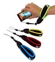 Orange Waterproof Floating Afloat Foaming Hand Arm Wrist Strap for Mini Digital Camera
