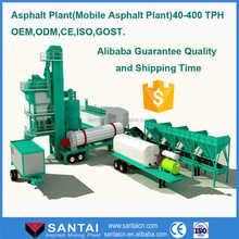 Portable froide enrobés plantes 40TPH petite asphalte usine de vente prix