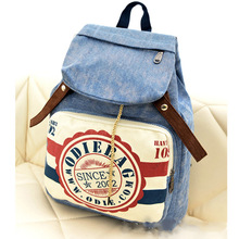 Top Selling Cheap Fashion Trave decorated backpack bagwith pocket