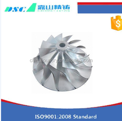 submersible pump stainless steel impeller /shaft cast iron water pump impeller