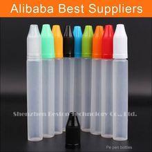 Alibaba online shopping bottle amber pe plastic bottle 10ml red cap industries