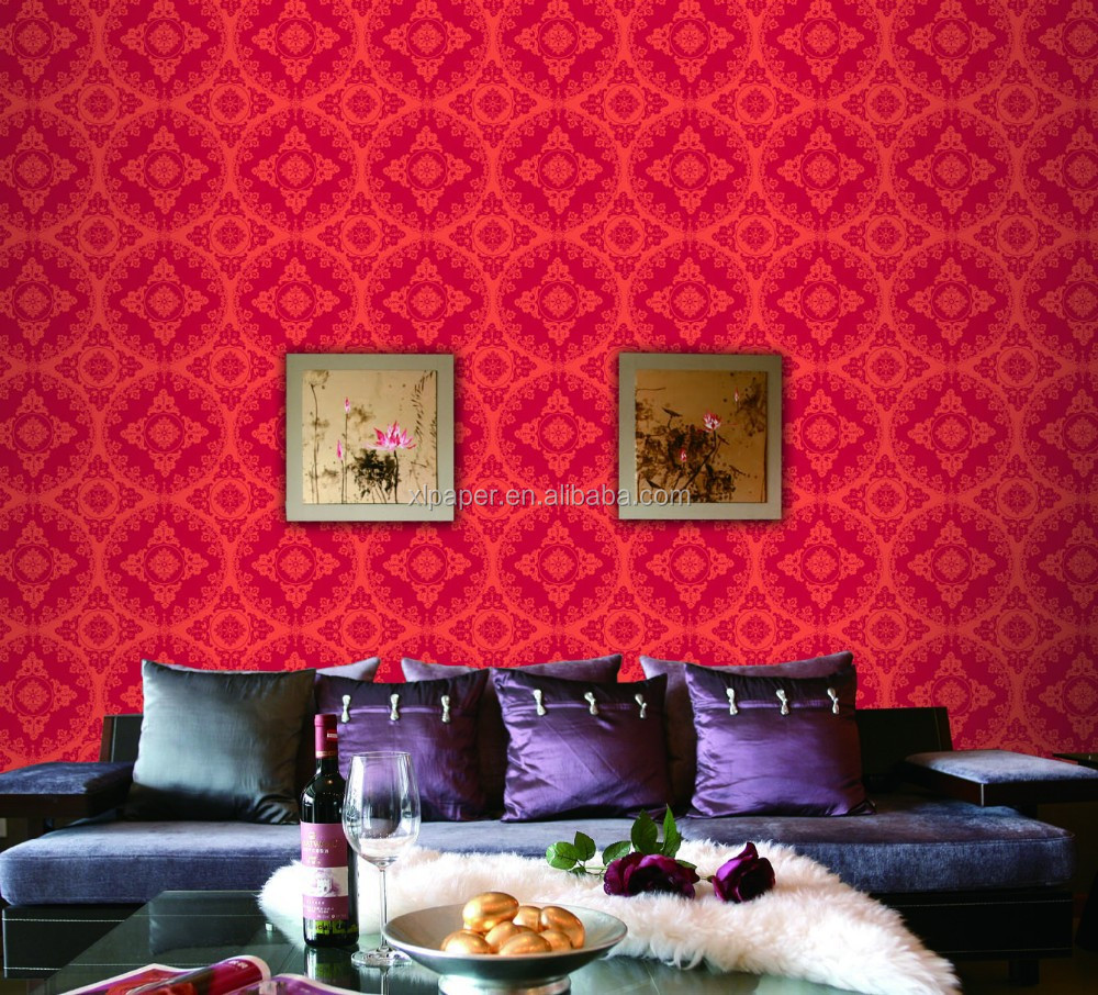 Cheap damask wallpaper 2015 best auto reviews for Cheap wallpaper