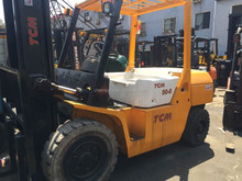 Manual hydraulic forklift, Used TCM forklift 5 ton