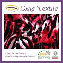 96 polyester 4 spandex shiny fabric