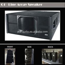outdoor concert speakers q1 line array speaker/sound systems pro audio