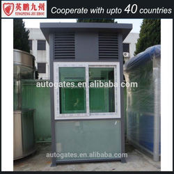 2014 Latest fashion mobile sentry box/guard house/booth for sale