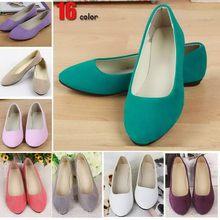 Stylish popular pink lady fold up ballet shoes