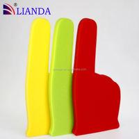 custom foam finger wholesale,OEM foam hand with printing logo,entertainment foam finger