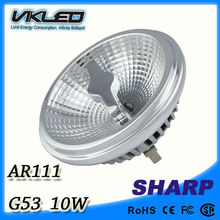 high quality led ar111 G53 base 10W 220V