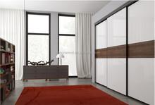 Madera maciza alta calidad del color del doble de diseño de vestuario muebles de dormitorio