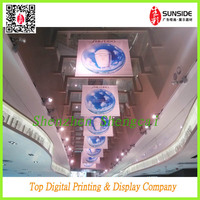 pvc flex banner digital printing with two side image