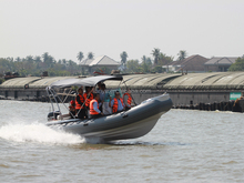 Liya 2-10meter inflatable rescue boat for sale military inflatable boat with outboard motor