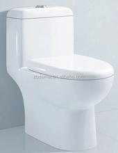 siphon flushing single toilet; floor drain sanitary wares, 300 Roughing-in